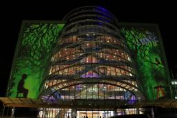 CCD Building Projection