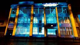 Building Projection Ireland - Urban Voices