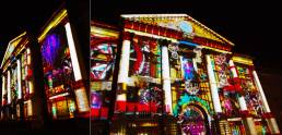 Building Projection Lighting Dublin