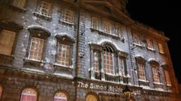 Building Projection Ireland - Dublin Simon Community