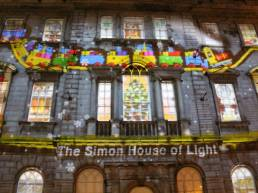 Building Projection Ireland - Dublin Simon Community