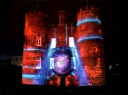 Building Projection Lighting - Street Rhythms 2011