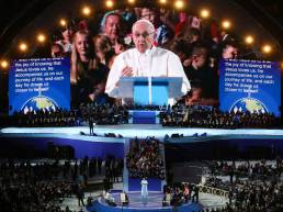 Lighting Design - Popes Visit to Ireland